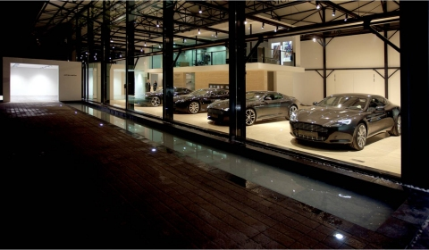Aston Martin Opens First Dealership in Luxembourg