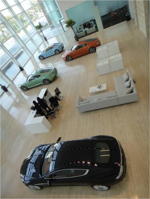 Aston Martin Opens Flagship Showroom in Shanghai 01