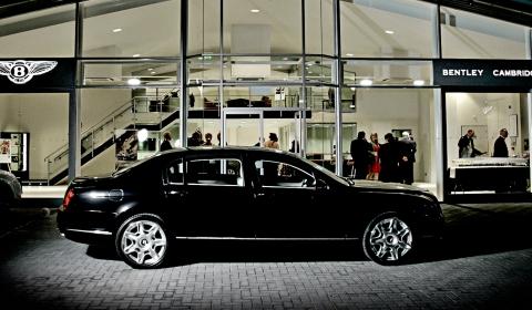 Bentley Cambridge Opens in Style