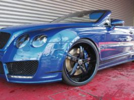 Bentley Continental GT Convertible by Office-K