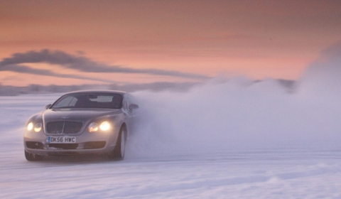 Bentley Power on Ice Adventure 2012