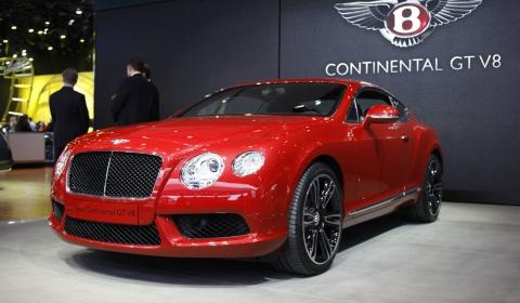 Detroit 2012 New Bentley Continental GT V8