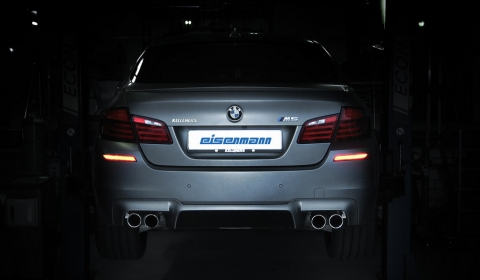 Eisenmann Plans Release BMW F10M M5 Exhaust