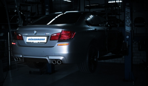 Eisenmann Plans Release BMW F10M M5 Exhaust 01