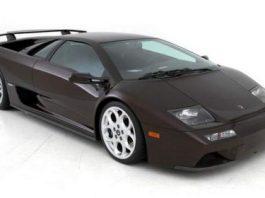 Final Lamborghini Diablo 6.0 VT SE Ever Made Sold at Auction