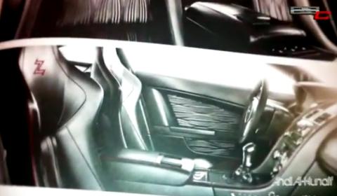 First Look Inside Production Aston Martin V12 Zagato Interior