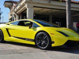 For Sale One-Off Giallo Tenerife Lamborghini Gallardo LP570-4 Superleggera