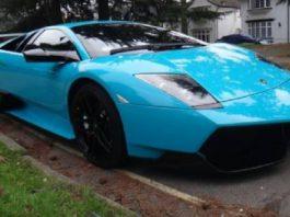 For Sale Turquoise Al-Thani Lamborghini LP670-4 SuperVeloce