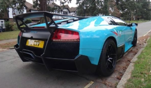 For Sale Turquoise Al-Thani Lamborghini LP670-4 SuperVeloce 01