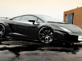 Lamborghini Gallardo on PUR Design 3hree Wheels
