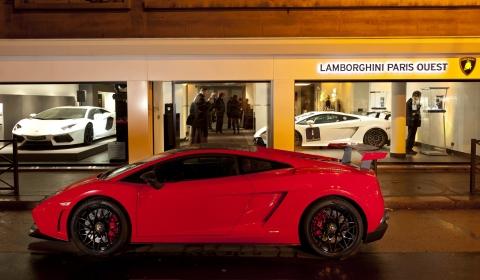 Lamborghini Opens New Dealership Lamborghini Paris Ouest