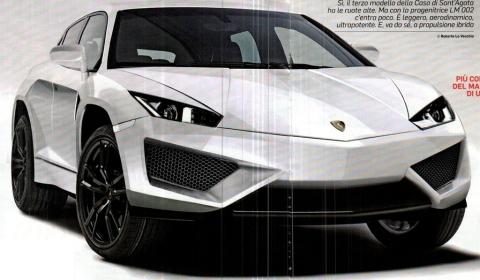 Lamborghini Plans Crossover Concept for Beijing 2012
