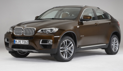 Official 2013 BMW X6 Facelift