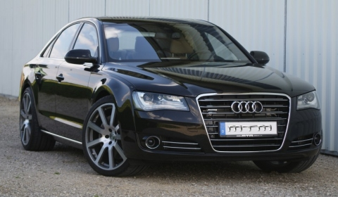Official MTM Audi A8 Tuning for 4.2 TDI V8 Engine