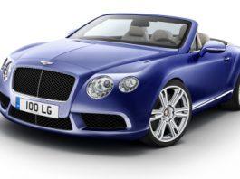 Official New Bentley Continental GTC V8