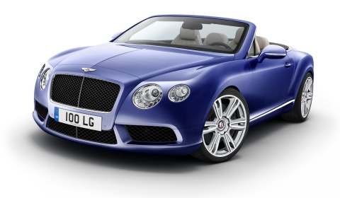 Official New Bentley Continental GTC V8