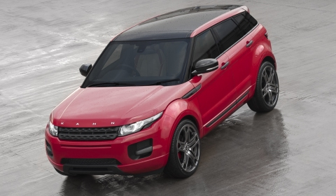 Official Red Evoque by Afzal Kahn Design