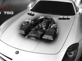 Official Weistec Mercedes SLS 750 Supercharger System