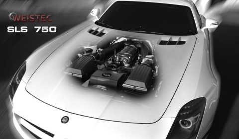 Official: Weistec Mercedes SLS 750 Supercharger System