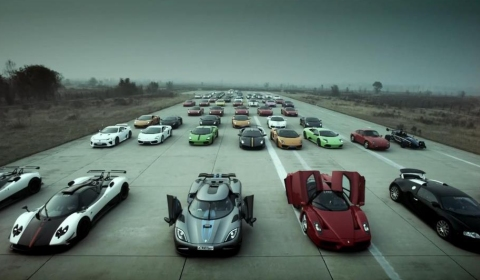 Photo Of The Day Chinese Super Car Club Lineup