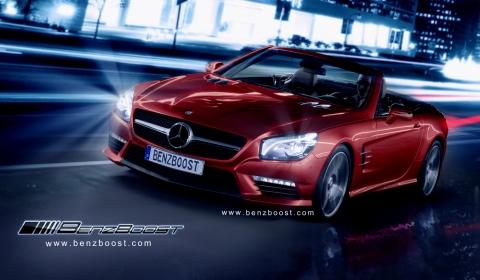 Rendering 2013 Mercedes-Benz SL 63 AMG