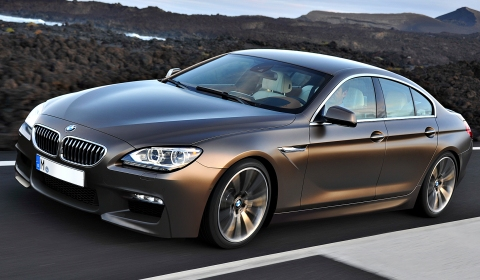 Rendering 2013 BMW M6 Gran Coupe