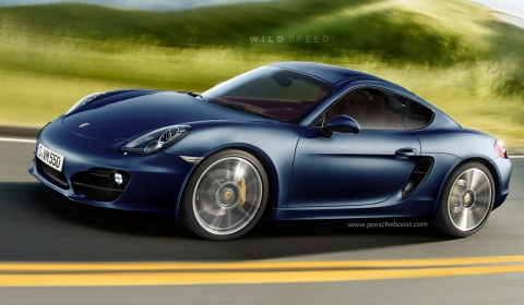 Porsche on Porsche   S New 2013 Cayman And Cayman S Will Make Their Official At