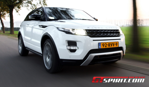 Road Test Range Rover Evoque