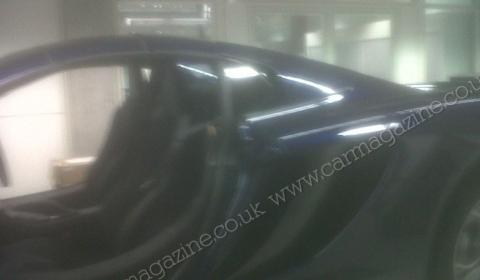 Spyshots McLaren MP4-12C Spyder Show Three-Piece Targa Roof 01