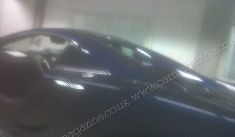 Spyshots McLaren MP4-12C Spyder Show Three-Piece Targa Roof 02