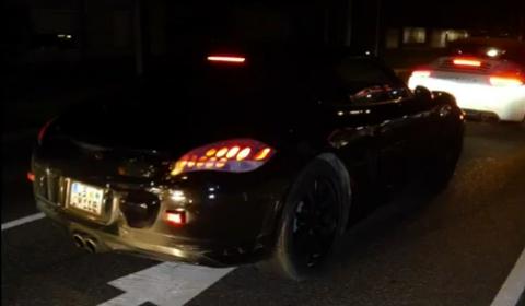Spyvideo 2013 Porsche Cayman (981) in Stuttgart