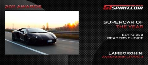 Supercar of the Year 2011 Editors' Choice