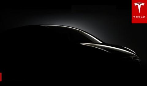 Teaser Tesla Model X Crossover