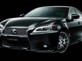TRD Accessory Program for 2013 Lexus GS