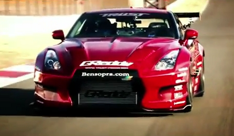 Video 1250hp GReddy 35RX GT-R at Fuji Speedway