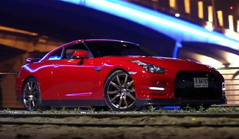 Video 2012 Nissan GT-R in Dubai