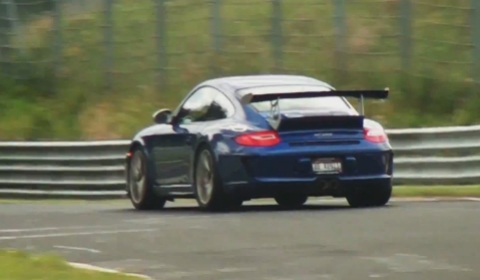 Video 21x Porsche 997 GT3 RS MKII at Nurburgring Nordschleife