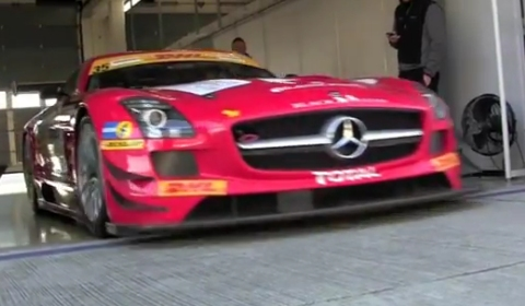 Video AMG Driving Academy SLS AMG GT3 Experience