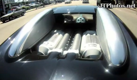 Video Bugatti Veyron First Drive After Taking Delivery