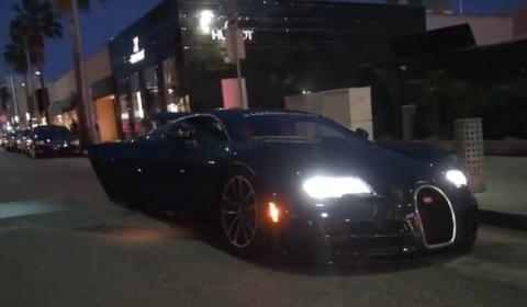 Video Bugatti Veyron Super Sport in Beverly Hills