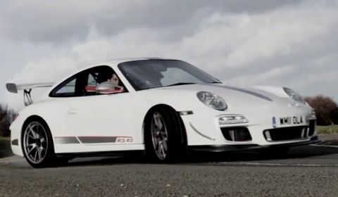 Video Chris Harris' 911 GT3 RS 4.0 Last Drive Before Hibernation
