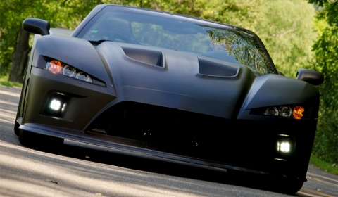 Video Falcon F7 Supercar