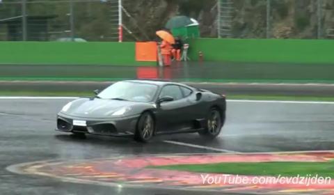 Video Ferrari 430 Scuderia Flatout on Spa-Francorchamps