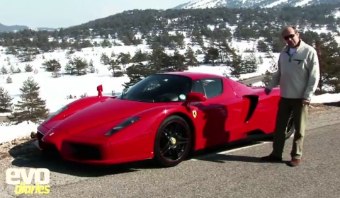 Video Ferrari Enzo Walk-round with Harry Metcalfe