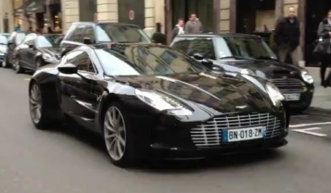 Video How Bad is Stalling an Aston Martin One-77?