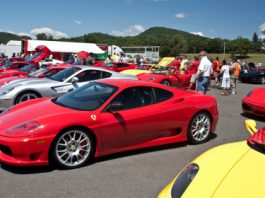 Video How Many Ferraris Can You Count?