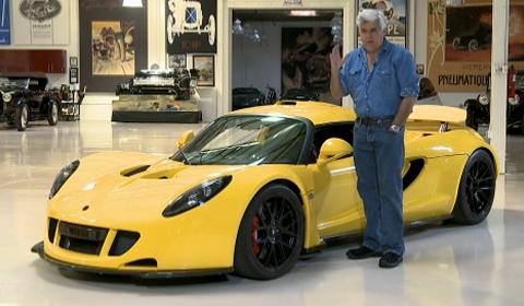 Video Jay Leno Drives Hennessey Venom GT