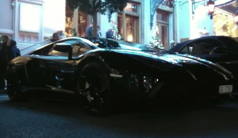 Video Lamborghini LP700-4 Aventador in Monaco