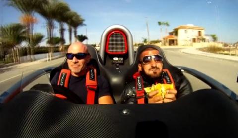 Video Never Eat McDonalds in an Ariel Atom