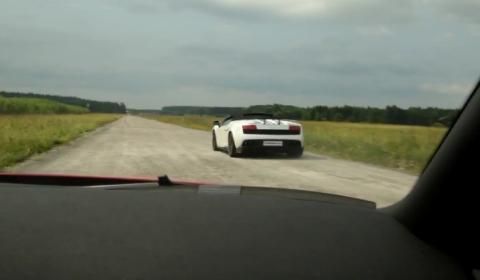 Video Nissan GT-R vs Lamborghini LP570-4 Performante